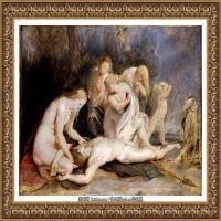 彼得保罗鲁本斯Peter Paul Rubens德国巴洛克画派画家古典油画人物高清图片宗教油画高清大图 (603)