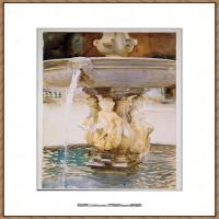 约翰萨金特John Singer Sargent美国肖像画家水彩画家绘画作品集萨金特水彩作品 (97)