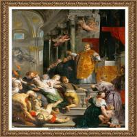彼得保罗鲁本斯Peter Paul Rubens德国巴洛克画派画家古典油画人物高清图片宗教油画高清大图 (183)