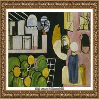 亨利马蒂斯Henri Matisse法国著名野兽派画家绘画作品集油画作品高清大图 (19)