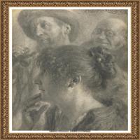 阿道夫门采尔Adolf Menzel德国著名油画家版画家插图画家绘画作品集素描手稿底稿经典作品图片 (16)