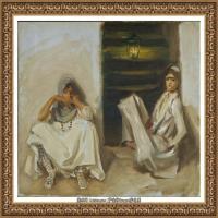 约翰萨金特John Singer Sargent美国肖像画家水彩画家绘画作品集萨金特油画作品 (32)