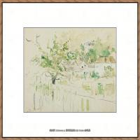 贝尔特莫里索Berthe Morisot法国印象派女画家绘画作品高清图片莫里索油画作品高清图片 (3)