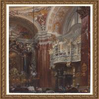 阿道夫门采尔Adolf Menzel德国著名油画家版画家插图画家绘画作品集西方绘画大师经典作品集 (26)