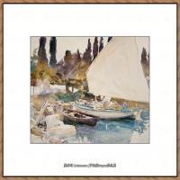 约翰萨金特John Singer Sargent美国肖像画家水彩画家绘画作品集萨金特水彩作品 (94)