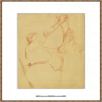 贝尔特莫里索Berthe Morisot法国印象派女画家绘画作品集素描手绘手稿底稿高清图片 (20)