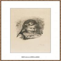 皮埃尔奥古斯特雷诺阿Pierre Auguste Renoir法国印象派重要画家雷诺阿印象派素描作品集-DOUZE LI