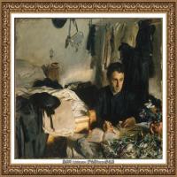 约翰萨金特John Singer Sargent美国肖像画家水彩画家绘画作品集萨金特油画作品 (28)