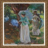 约翰萨金特John Singer Sargent美国肖像画家水彩画家绘画作品集萨金特油画作品 (34)