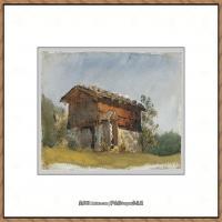 约翰萨金特John Singer Sargent美国肖像画家水彩画家绘画作品集萨金特水彩作品 (124)