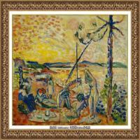 亨利马蒂斯Henri Matisse法国著名野兽派画家绘画作品集油画作品高清大图 (20)