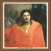 约翰萨金特John Singer Sargent美国肖像画家水彩画家绘画作品集萨金特油画作品 (50)