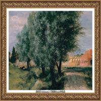 阿道夫门采尔Adolf Menzel德国著名油画家版画家插图画家绘画作品集西方绘画大师经典作品集 (29)