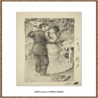 皮埃尔奥古斯特雷诺阿Pierre Auguste Renoir法国印象派重要画家雷诺阿印象派素描作品集Dance in