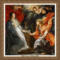 彼得保罗鲁本斯Peter Paul Rubens德国巴洛克画派画家古典油画人物高清图片宗教油画高清大图 (47)