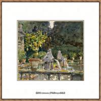 约翰萨金特John Singer Sargent美国肖像画家水彩画家绘画作品集萨金特水彩作品 (132)