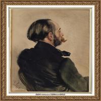 阿道夫门采尔Adolf Menzel德国著名油画家版画家插图画家绘画作品集西方绘画大师经典作品集 (21)