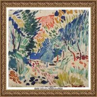 亨利马蒂斯Henri Matisse法国著名野兽派画家绘画作品集油画作品高清大图 (24)