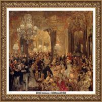 阿道夫门采尔Adolf Menzel德国著名油画家版画家插图画家绘画作品集西方绘画大师经典作品集 (31)