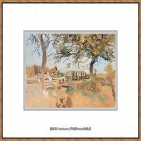 约翰萨金特John Singer Sargent美国肖像画家水彩画家绘画作品集萨金特水彩作品 (117)
