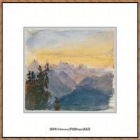 约翰萨金特John Singer Sargent美国肖像画家水彩画家绘画作品集萨金特水彩作品 (125)