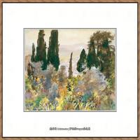 约翰萨金特John Singer Sargent美国肖像画家水彩画家绘画作品集萨金特水彩作品 (96)