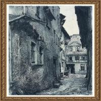 阿道夫门采尔Adolf Menzel德国著名油画家版画家插图画家绘画作品集素描手稿底稿经典作品图片 (23)