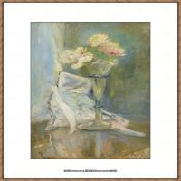 贝尔特莫里索Berthe Morisot法国印象派女画家绘画作品高清图片莫里索油画作品高清图片 (13)
