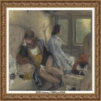 阿道夫门采尔Adolf Menzel德国著名油画家版画家插图画家绘画作品集西方绘画大师经典作品集 (9)