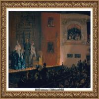 阿道夫门采尔Adolf Menzel德国著名油画家版画家插图画家绘画作品集西方绘画大师经典作品集 (19)