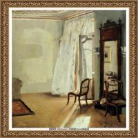 阿道夫门采尔Adolf Menzel德国著名油画家版画家插图画家绘画作品集西方绘画大师经典作品集 (7)