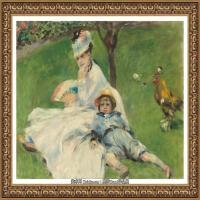 克劳德莫奈Claude Monet法国印象派画家绘画作品集莫奈名画高清图片 (426)