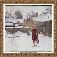 约翰萨金特John Singer Sargent美国肖像画家水彩画家绘画作品集萨金特油画作品 (37)