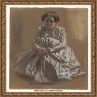 阿道夫门采尔Adolf Menzel德国著名油画家版画家插图画家绘画作品集西方绘画大师经典作品集 (30)