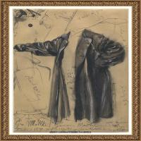 阿道夫门采尔Adolf Menzel德国著名油画家版画家插图画家绘画作品集素描手稿底稿经典作品图片 (25)