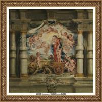 彼得保罗鲁本斯Peter Paul Rubens德国巴洛克画派画家古典油画人物高清图片宗教油画高清大图 (31)