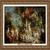 彼得保罗鲁本斯Peter Paul Rubens德国巴洛克画派画家古典油画人物高清图片宗教油画高清大图 (561)
