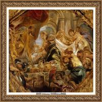 彼得保罗鲁本斯Peter Paul Rubens德国巴洛克画派画家古典油画人物高清图片宗教油画高清大图 (26)