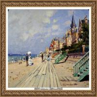 克劳德莫奈Claude Monet法国印象派画家绘画作品集莫奈名画高清图片 (511)