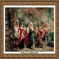彼得保罗鲁本斯Peter Paul Rubens德国巴洛克画派画家古典油画人物高清图片宗教油画高清大图 (41)