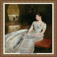 约翰萨金特John Singer Sargent美国肖像画家水彩画家绘画作品集萨金特油画作品 (39)