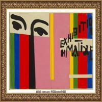亨利马蒂斯Henri Matisse法国著名野兽派画家绘画作品集油画作品高清大图 (9)