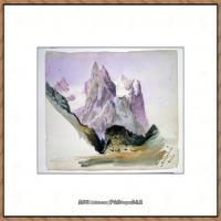 约翰萨金特John Singer Sargent美国肖像画家水彩画家绘画作品集萨金特水彩作品 (85)