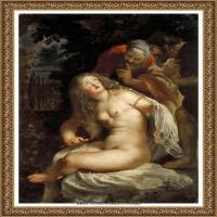 彼得保罗鲁本斯Peter Paul Rubens德国巴洛克画派画家古典油画人物高清图片宗教油画高清大图 (150)