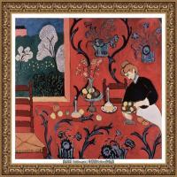 亨利马蒂斯Henri Matisse法国著名野兽派画家绘画作品集油画作品高清大图 (43)