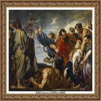 彼得保罗鲁本斯Peter Paul Rubens德国巴洛克画派画家古典油画人物高清图片宗教油画高清大图 (53)