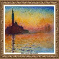 克劳德莫奈Claude Monet法国印象派画家绘画作品集莫奈名画高清图片 (363)