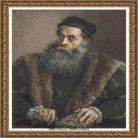 阿道夫门采尔Adolf Menzel德国著名油画家版画家插图画家绘画作品集西方绘画大师经典作品集 (22)