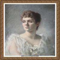 约翰萨金特John Singer Sargent美国肖像画家水彩画家绘画作品集萨金特油画作品 (27)