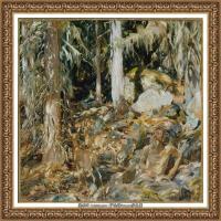 约翰萨金特John Singer Sargent美国肖像画家水彩画家绘画作品集萨金特油画作品 (41)